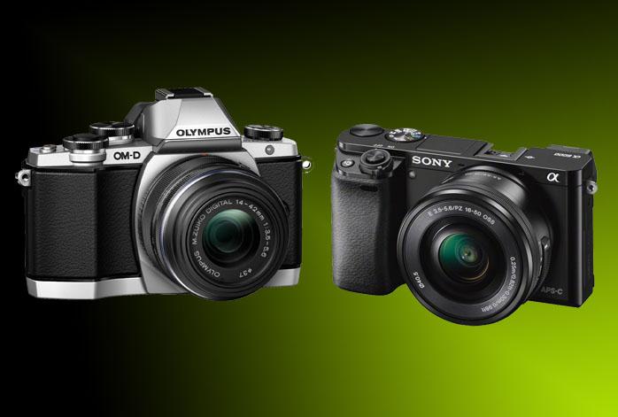Olympus OM-D E-M10 vs Sony a6000