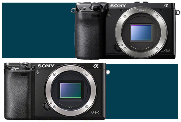 Sony Alpha a6000 vs NEX 7