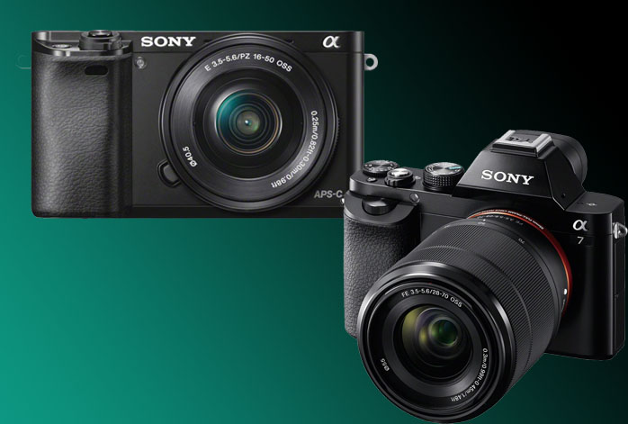 Sony Alpha a6000 vs a7