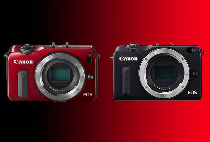 Canon EOS M vs M2