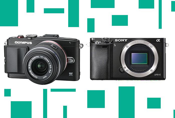 Olympus PEN E-PL6 vs Sony a6000