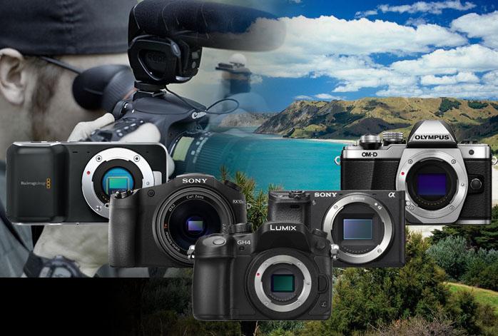 Best 5 Mirrorless Cameras For Video