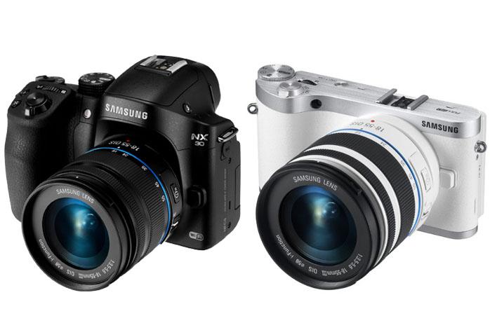 Samsung NX30 vs NX300