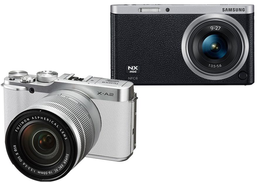 Samsung NX Mini vs Fujifilm XA2