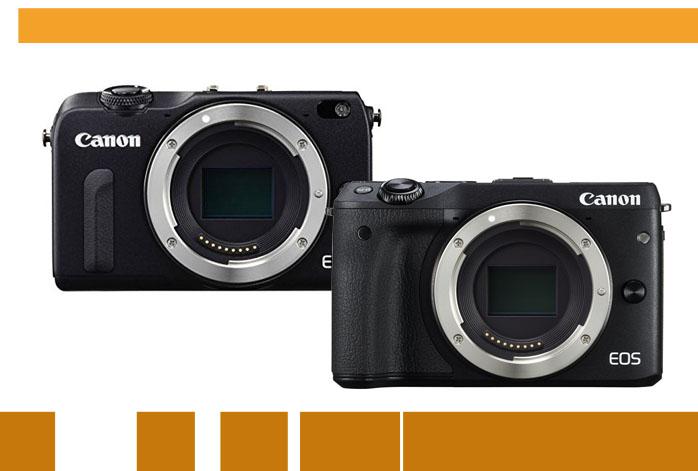 Canon EOS M2 vs M3