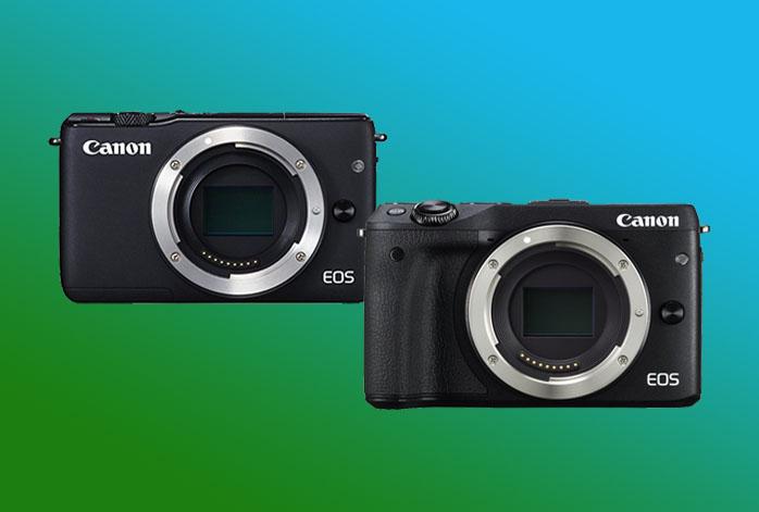 Canon EOS M3 vs M10