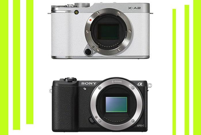 Fujifilm X-A2 vs Sony a5100