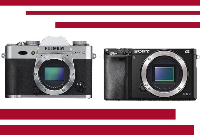 Fujifilm X-T10 vs Sony a6000
