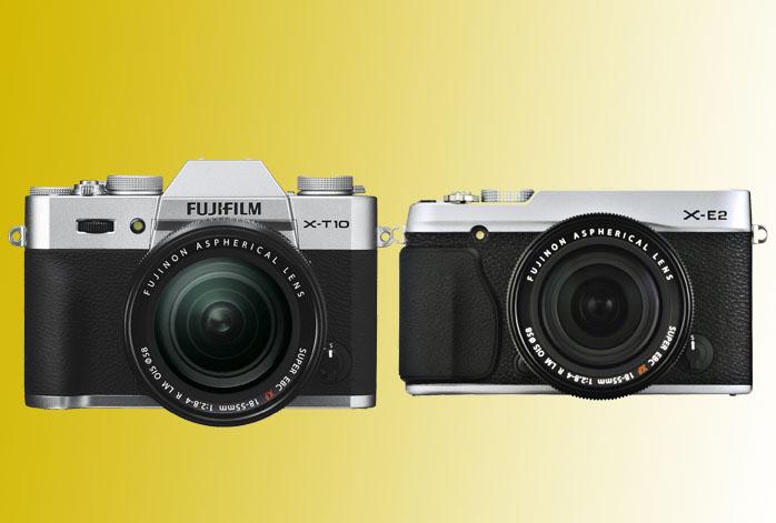 Fujifilm X-T10 vs X-E2