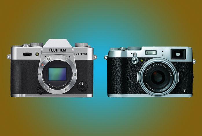 Fujifilm XT10 vs X100T