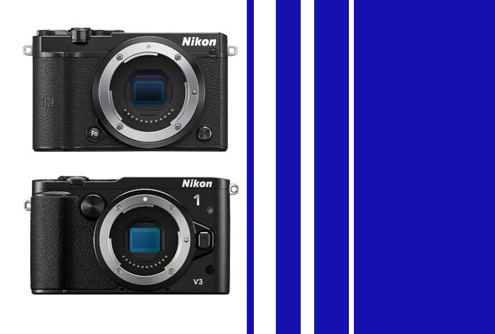 Nikon 1 J5 vs V3