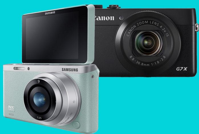 Samsung NX Mini vs Canon G7X