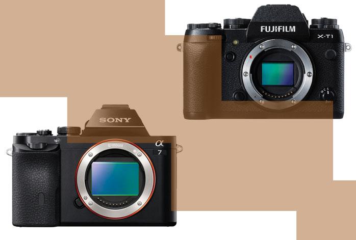 Sony a7 vs Fuji XT1