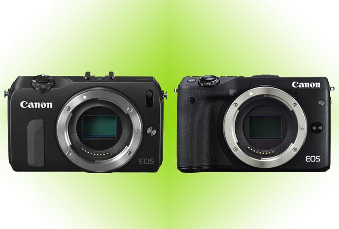 Canon EOS M vs M3