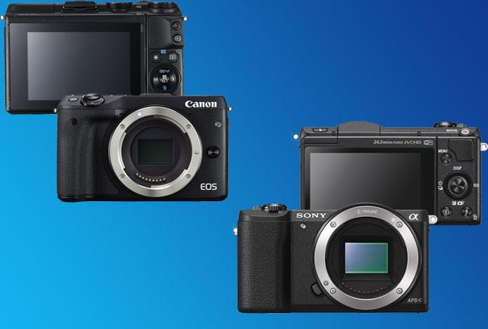 Canon EOS M3 vs Sony a5100