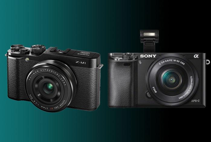 Fujifilm X-M1 vs Sony a6000
