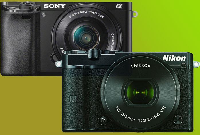 Nikon 1 J5 vs Sony a6000