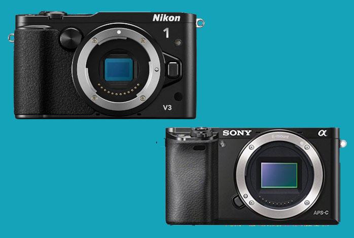 Nikon 1 V3 vs Sony a6000