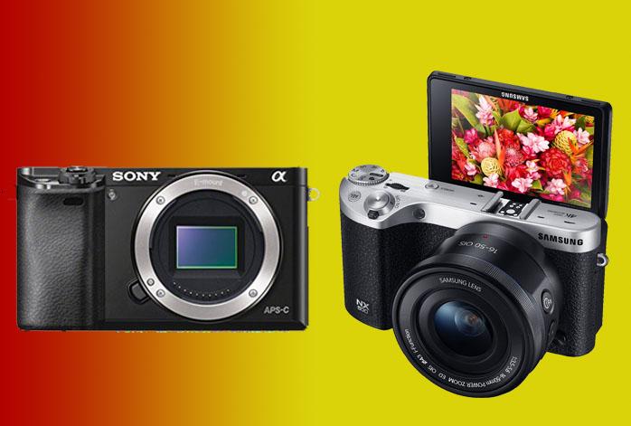 Sony Alpha a6000 vs Samsung NX500