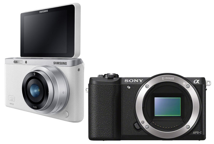 Samsung NX Mini vs Sony a5100