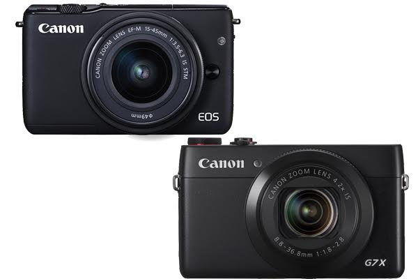 Canon EOS M10 vs G7X