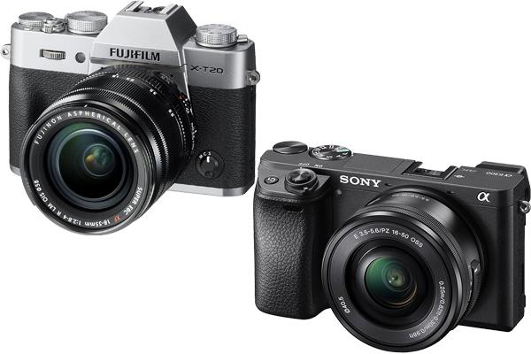 Fujifilm X-T20 vs Sony A6300
