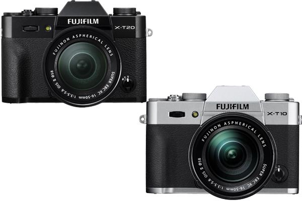 Fujifilm XT20 vs XT10