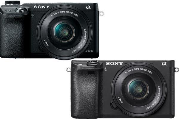 Sony Nex 6 vs A6300
