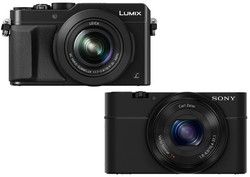 Panasonic LX100 vs Sony RX100