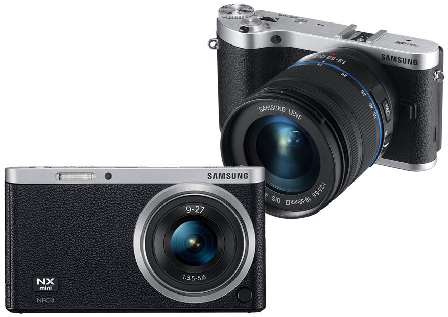 Samsung NX Mini vs NX300