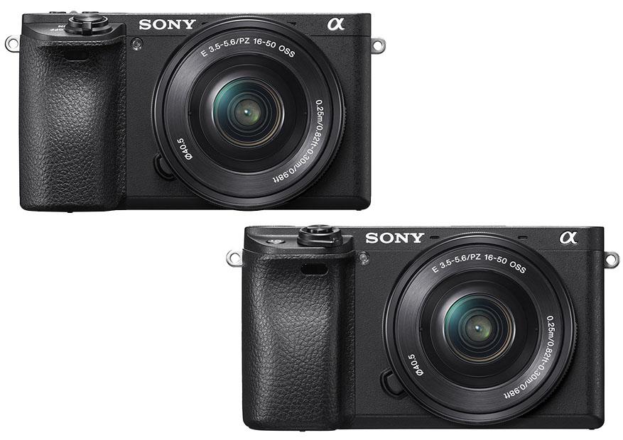 Sony Alpha A6300 vs A6500